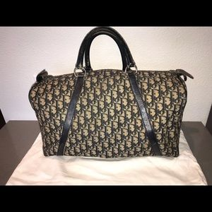 Authentic Dior trotter speedy keepall boston bag